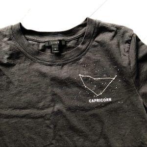J.Crew Capricorn horoscope tshirt